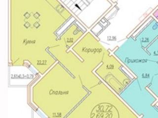 Продажа квартир: 2-комнатная квартира, Краснодар, ул. им Леваневского, 187, фото 1