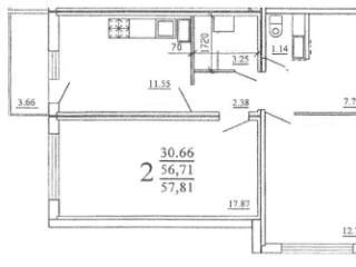 Продажа квартир: 2-комнатная квартира, Краснодар, ул. Героев-Разведчиков, 5, фото 1