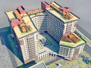 Продажа квартир: 4-комнатная квартира в новостройке, Барнаул, ул. Никитина, 107, фото 1
