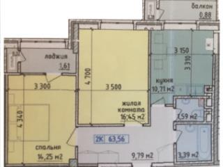 Продажа квартир: 2-комнатная квартира, Ростовская область, Аксай, ул. Карла Либкнехта, фото 1