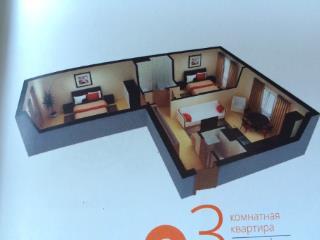 Продажа квартир: 3-комнатная квартира в новостройке, Челябинск, ул. Профессора Благих, 7, фото 1