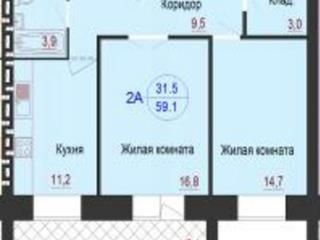 Продажа квартир: 2-комнатная квартира, Волгоград, ул. им Никитина, 125, фото 1