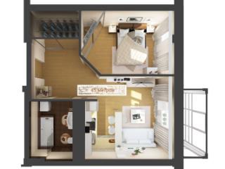 Продажа квартир: 1-комнатная квартира, Краснодарский край, Сочи, ул. Ленина, 204, фото 1
