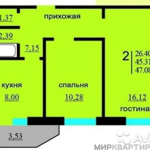 Продам квартиру Воронеж, Сельская ул., 2