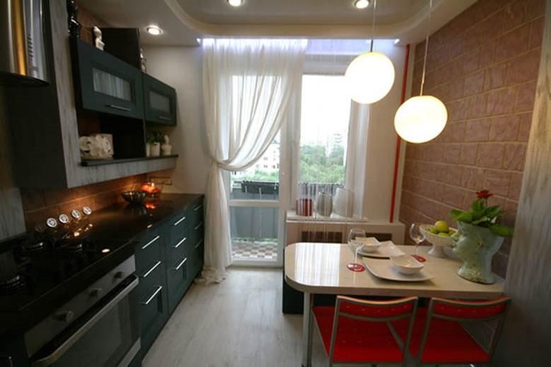 Кухня 9 кв метров: современные фото идей.
